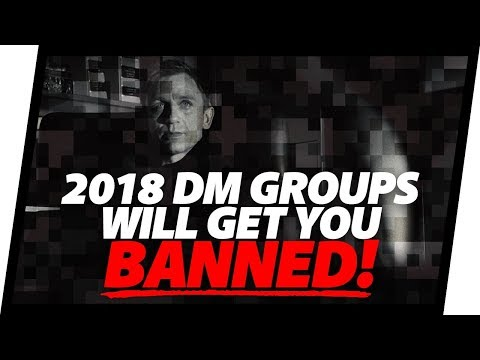 Instagram DM Groups Get You BANNED. 2018 ALGORITHM UPDATE