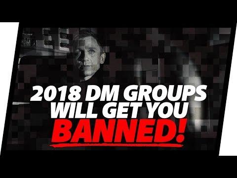 Instagram DM Groups Get You BANNED. 2018 ALGORITHM UPDATE