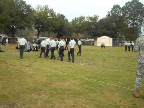 Viera Hawk's First Drill Competition