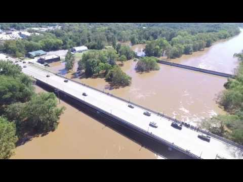 Cape Fear River Above Flood Stage
