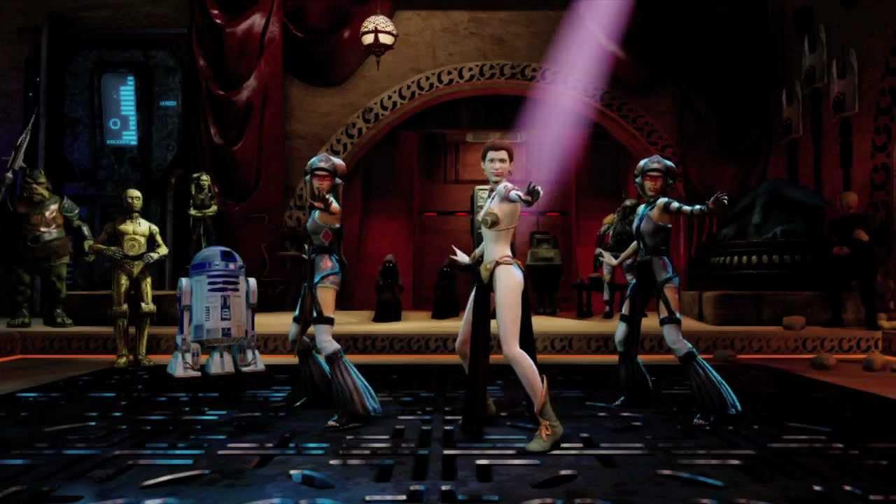 Kinect Star Wars Dance... Gwen Stefani Hollaback Girl