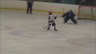 Sickest Peewee AAA Penalty Shot Goal