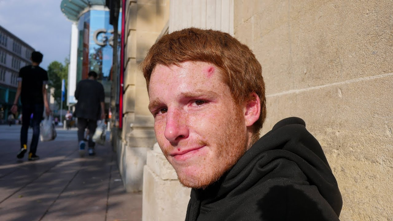 Young Homeless Man in Cardiff, Wales Shares Real Truth About Sleeping Rough