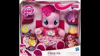 Пинки Пай интерактивная игрушка Baby Pinkie Pie от Miss Arina TV