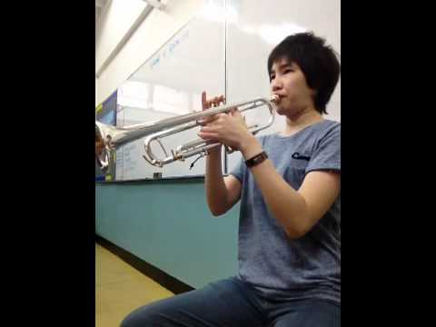 Try to play Trumpet with braces