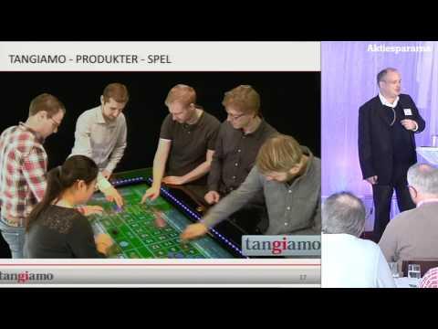 Aktiedagen Stockholm – Tangiamo Touch Tech