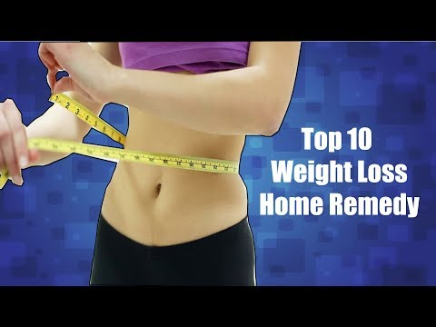 Top 10 Weight Loss Home Remedy Tips