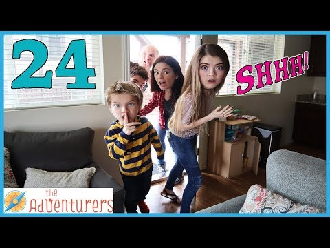 24 Hours - Sneaking Into Audrey's Apartment! (Gone Wrong!) / That YouTub3 Family | The Adventurers
