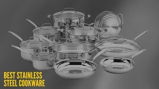 10 Best Stainless Steel Cookware Reviews in 2018 [Ultimate Guide]