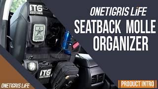 OneTigris Life Seatback MOLLE Organizer