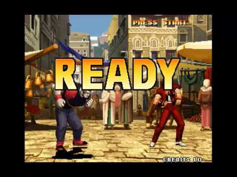 King of fighters 98 Brian Lucky Heavy D! all combos finish