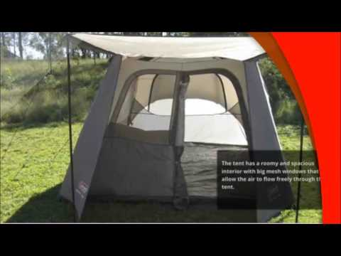 Coleman 6 Person Instant Tent & Coleman 6 Person Instant Tent - YouTube