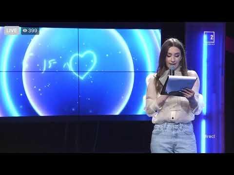 Carolina RA - Dancing In The Sunrise / Eurovision 2020 Moldova Live Audicions