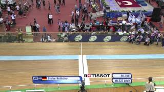 BOTTICHER v DMITRIEV Gold Mens Sprint Final Race 2 , 2013 UCI World Track Championships