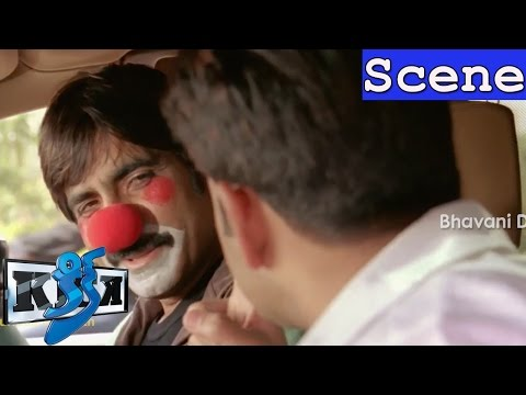Ravi Teja Steals The Election Fund - Climax Robbery Scene - Kick Movie Scenes