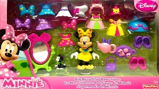 Play Doh Minnie Mouse Big Beautiful Bow-tique Playset Fisher Price Toys Minnie Doll Disney Junior