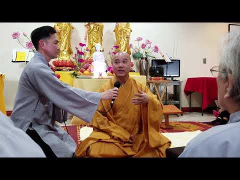 Thầy Thích Pháp Hoà chỉ cách ngồi thiền (Phone 42 min 43 sec) [chùa VN 2019-03-30]