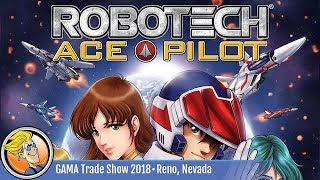 Robotech: Ace Pilot — game preview at the 2018 GAMA Trade Show