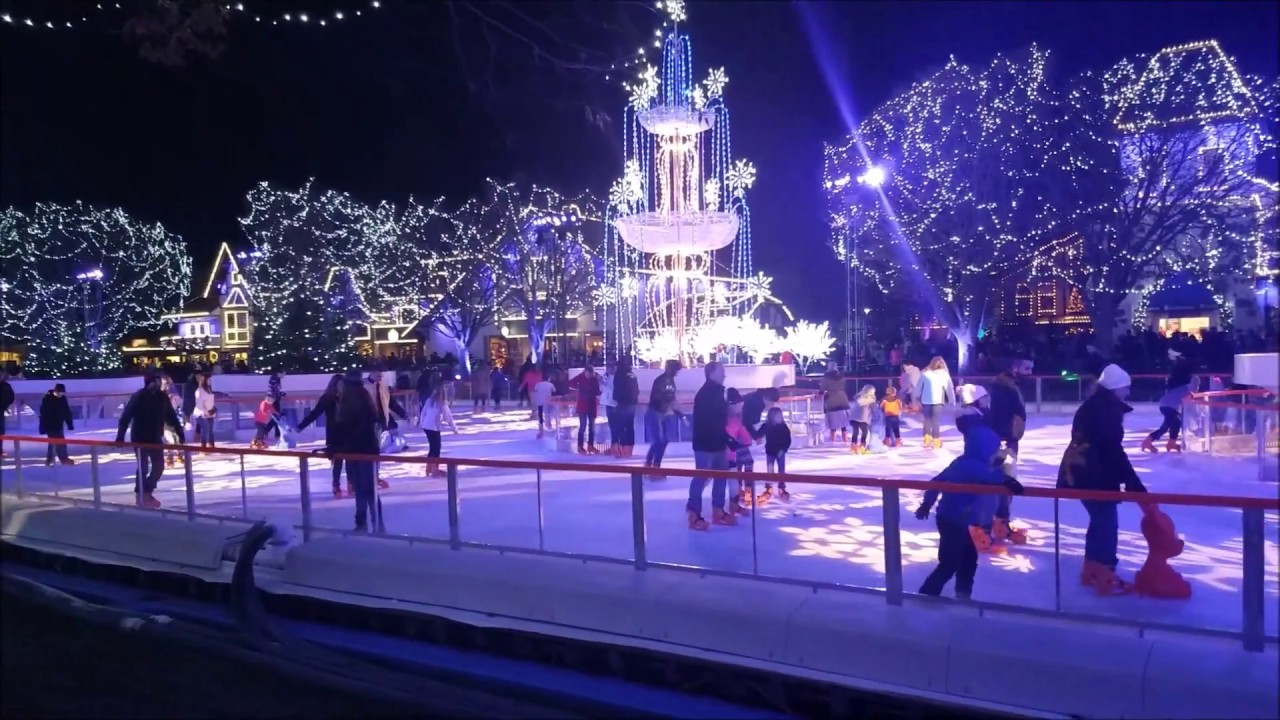 Winterfest Opening Night Highlights ~ Kings Island - YouTube