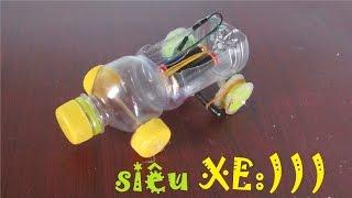 Làm xe ô tô đơn giản từ chai nhựa - ô tô đồ chơi