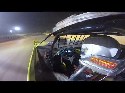 Laurens County Speedway 604 Crate in-car camera 9-30-17