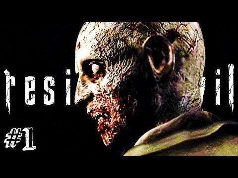 ОБИТЕЛЬ ЗЛА! ► RESIDENT EVIL HD Remaster Прохождение #1 ► ХОРРОР ИГРА