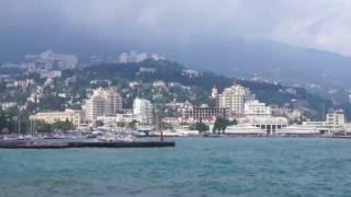 Крым. Ялта сегодня (25.05.2016). Прохладно, дождь, шторм - Crimea. Yalta today(, 2016-05-25T20:45:20.000Z)