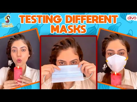 Testing Different Masks #Shorts