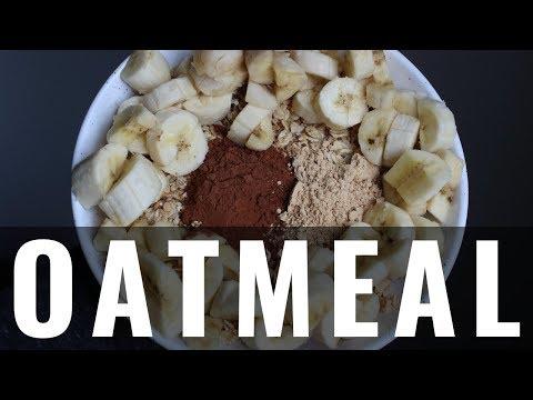 Chocolate Peanut Butter Banana Oatmeal (Vegan, WFPB)