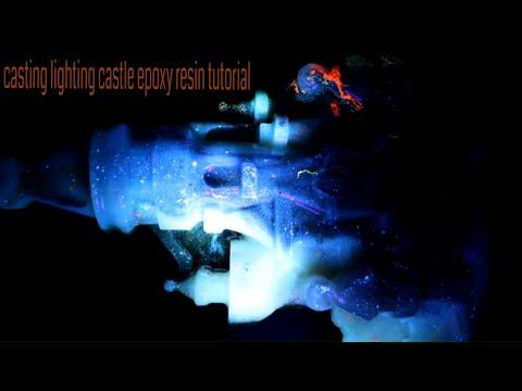 Lighting Castle epoxy_resin tutorial