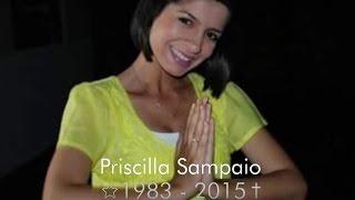 Apresentadora Priscilla Sampaio é sepultada em Campo Grande, MS