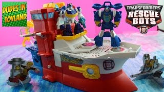 Rescue Bots High Tide Rescue Rig Transformers toys videos by Habro Playskool Heroes