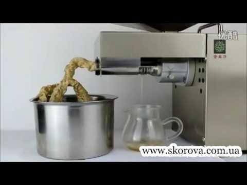 Маслопресс для холодного отжима масла