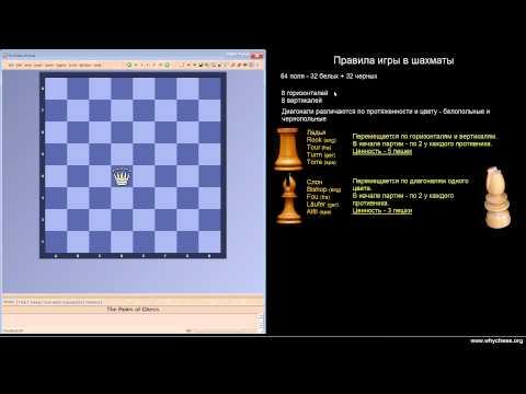 1/64. Правила игры в шахматы