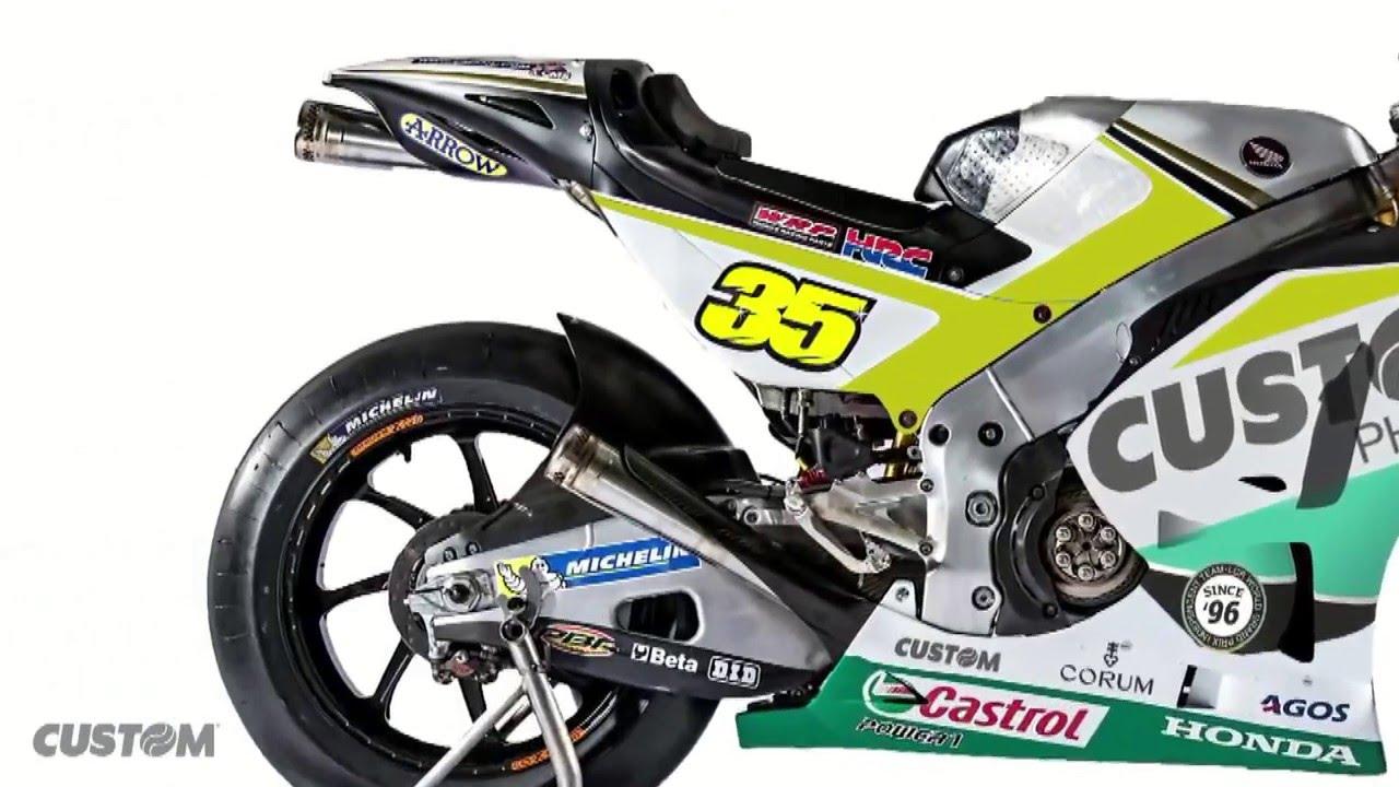 2016 Honda MotoGP LCR Custom Livery - YouTube