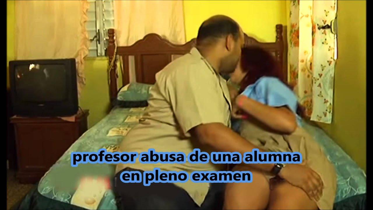 Profesor y su alumna en vivo