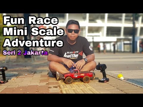 Fun Race Mini Scale RC Adventure Seri 2