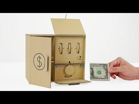 Amazing Cardboard DIY | How to Make Safe Locker 2 Level from Cardboard