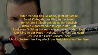 Kollegah - In der Hood (Lyrics on screen)