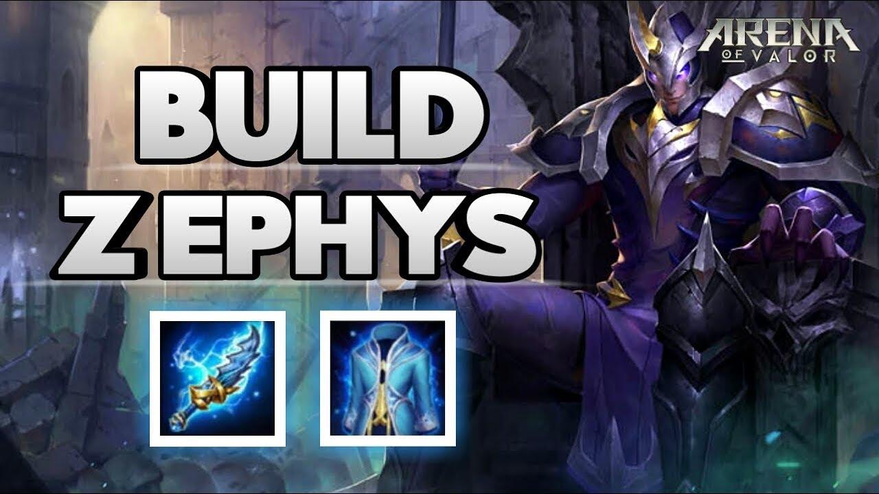 new build item super zephys arena of valor aov youtube. Black Bedroom Furniture Sets. Home Design Ideas