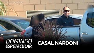 Exclusivo: Domingo Espetacular mostra o primeiro reencontro do casal Nardoni