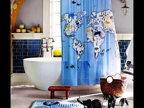 Forgetting Fatigue for Elegant Style by Enchanting Shower Curtains