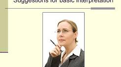 Lecture 5b: interpreting the BDI-II