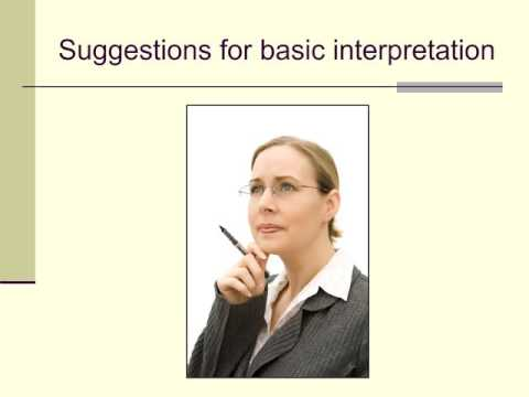 Lecture 5b: interpreting the BDI-II