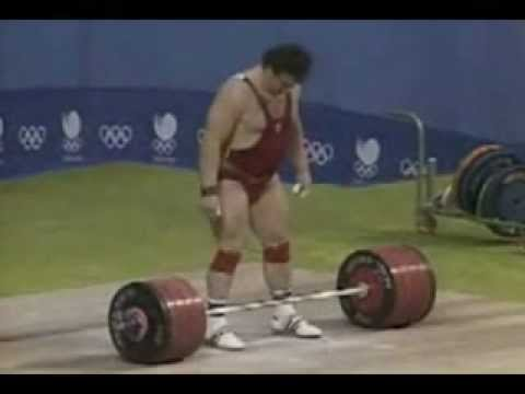 1988 +110 Kg Clean and Jerk