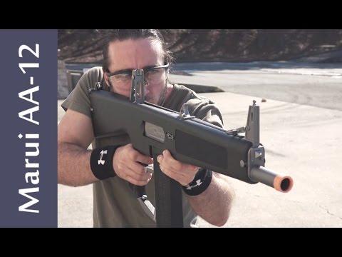 Tokyo Marui AA-12 Shotgun AEG - Airsoft Review