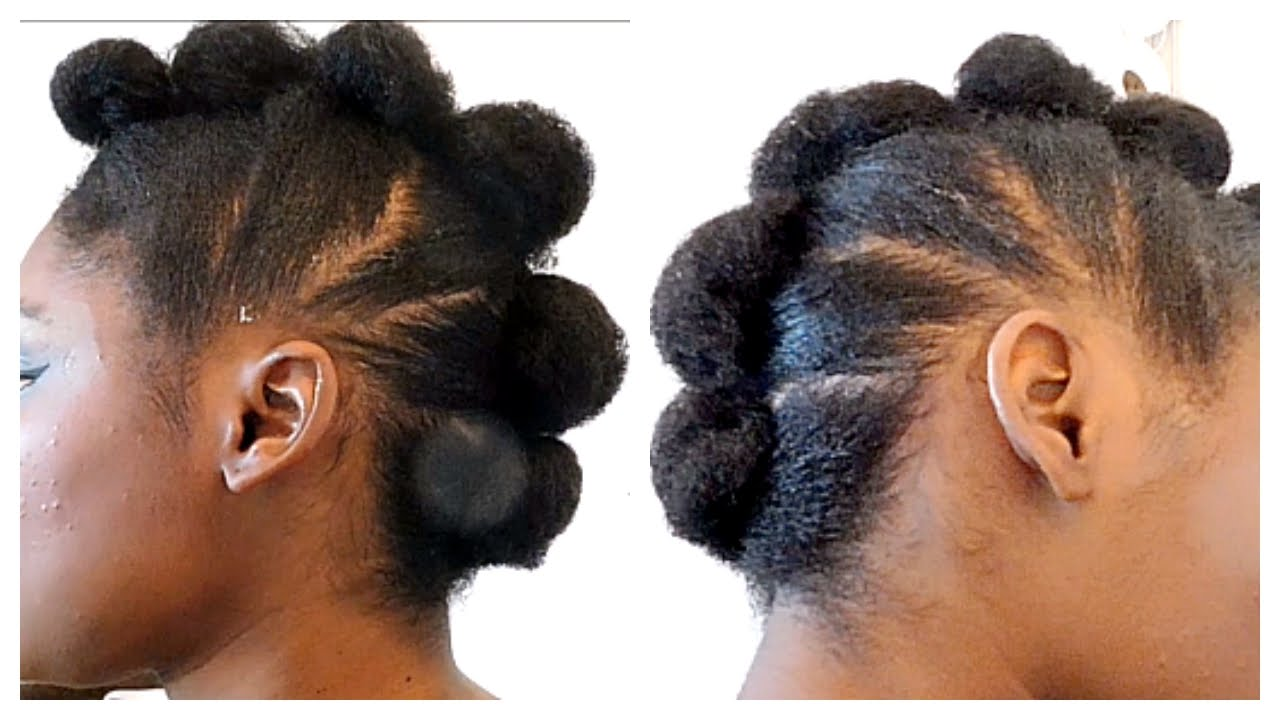 3 Very Simple Easy Natural Hair Mohawks Anyone Can Do Sophie Sticatedmom