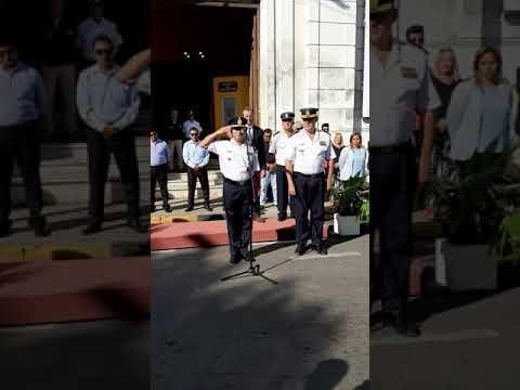 Paraná tiene nuevo jefe de la Departamental de Policía Parte 01