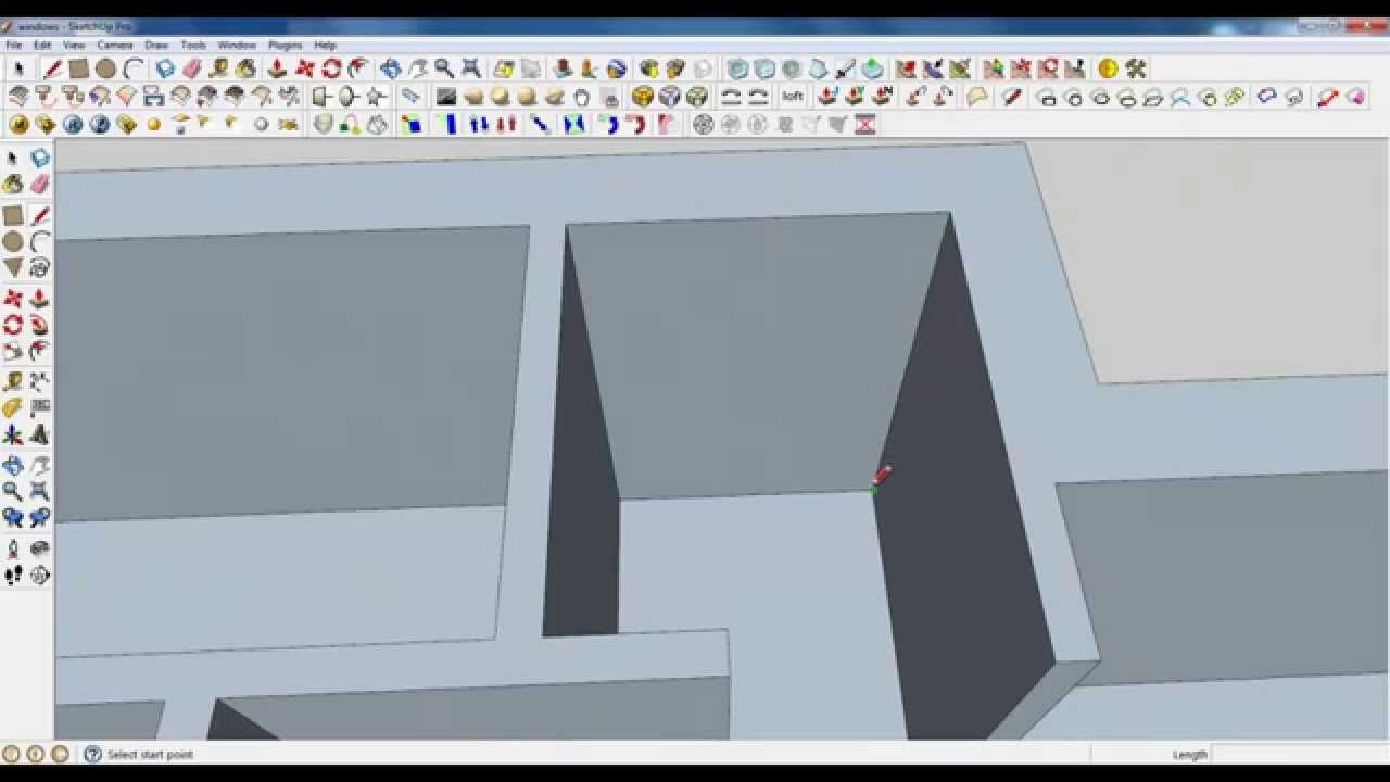 Interior home design tutorial sketchup tutorial youtube, sketchup.