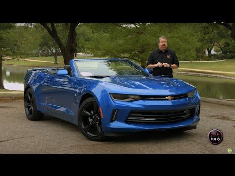 2016 Chevrolet Camaro 2lt Convertible Test Drive Carprousa